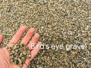 Birds Eye Pea-Sized Gravel bulk delivery Vancouver