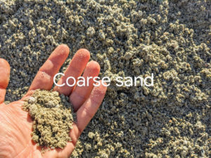 Coarse Sand for landscaping and construction sechelt sand in Burnaby
