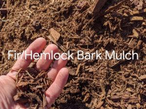 Fir & Hemlock Bark Mulch local mulches home delivery Delta BC