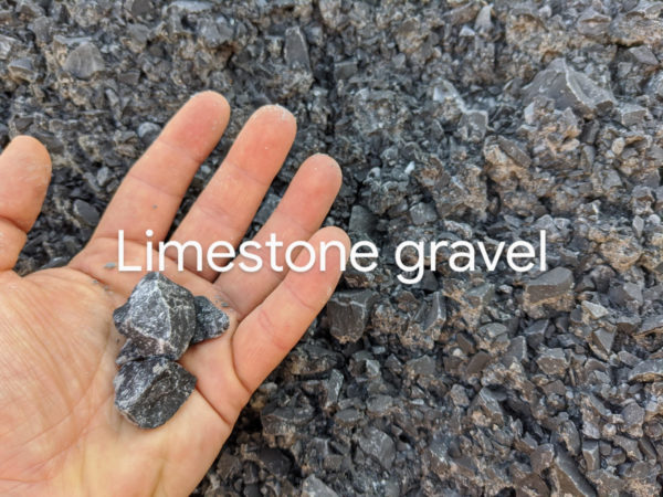 Limestone Gravel aggregate with home delivery North Vancouver