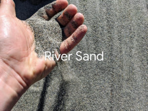 River Sand for landscaping and construction in Richmond BC