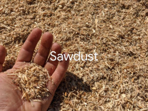 Sawdust for landscaping animal beds delivery service Fraser Valley