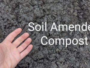 Soil Amender compost based topsoil delivery service