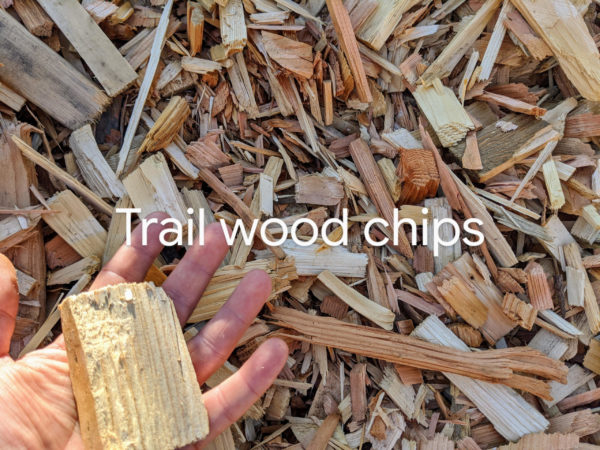 5 Inch Minus White Wood Trail Mix Chips delivery service to Tsawwassen