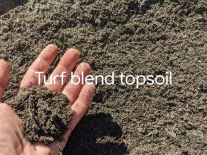 Turf Blend Top Soil for bulk discounts in Ladner